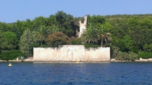 The fort across the water.  From Venitian times?  Greek?  Illirian?
